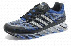 7dbcc17244638 Adidas Springblade Camo Blue Sliver Black Men s Running shoes buy shoes  online