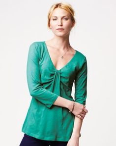 Kanya Tee by Velvet - Unique and love the color. Would need to drop in price before I'd consider.