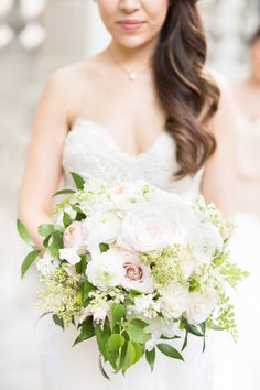 Romantic, pastel bouquet | Photography: Eileen Liu Photography  - www.eileenliuphotography.com/