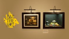A pop-up museum where you can eat the art