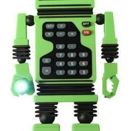 It's a robot! It's a calculator! It holds your pencils!