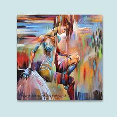Zahlen  abstrakte Figur Kunst  moderne Abbildung Gemälde