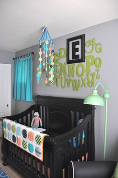 Great idea for emphasizing your child's monogram!!