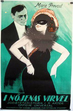 The Dangerous Little Demon (1922) Stars: Marie Prevost, Jack Perrin, Robert Ellis ~ Director: Clarence G. Badger (Norwegian Poster)