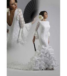 Traje de flamenca novia 2016 - trajes de flamenca 2016 - Roal