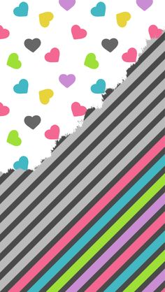 Image discovered by Lou. Find images and videos about wallpaper, iphone and colorful on We Heart It - the app to get lost in what you love. Iphone Wallpaper Sky, Emo Wallpaper, Chevron Wallpaper, Cute Wallpaper For Phone, Homescreen Wallpaper, Hello Kitty Wallpaper, Glitter Wallpaper, Heart Wallpaper, Colorful Wallpaper