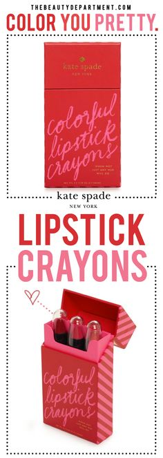 GIFT OF THE WEEK: Party-Perfect Lipstick Crayons!