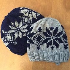 This is a great pattern for someone new to stranded patterns or colorwork! It's very simple and doesn't take to long to make, but it looks great!