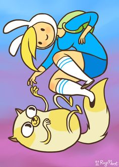 adventure time fionna and cake fan art - Pesquisa Google