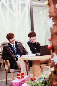 "Lee Min Ho and Kim Woo Bin ♡ #Kdrama - ""HEIRS"" / ""THE INHERITORS"""