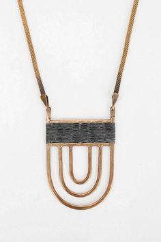 Tiro Tiro Polis Necklace - Urban Outfitters