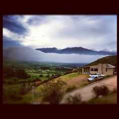 Nubes bajas en Tafi del Valle