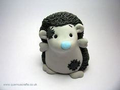 this would be cute to make out of polymer clay::