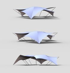 A Tensile Structure on Behance