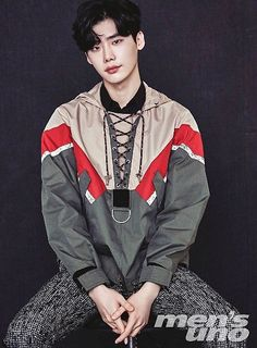 Lee Jong Suk is on the cover of Men's Uno, wearing Dior Homme pieces from the 2017 S& collection. We think he looks smexy no matter what he's wearing. Lee Jong Suk Cute, Lee Jung Suk, Kang Chul, Hyun Suk, Asian Actors, Korean Actors, Taemin, Jikook, W Two Worlds