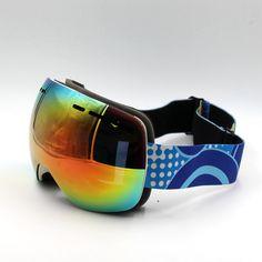 ff8735ef81fb1c New Brand Ski Goggles Double Lens UV400 Anti-Fog Frameless Ski Mask Glasses  Skiing Men. Snowboard GogglesSki GogglesLunette ...