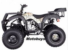 Jet Moto 250 Wrangler X-15 Sport/Utility Quad - Calif Legal Model