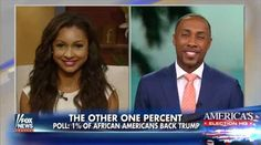 F&F Weekend co-host Tucker Carlson interviewed two prominent black citizens regarding a recently conducted an FNC Poll. As co-conducted under the joint direction of Anderson Robbins Research and Shaw Research and Associates, Fox News put forth some rather interesting stats. Fox News contributor, lawyer and rising Fox News star Eboni Williams, and the Director of