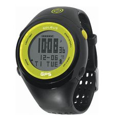 """Simple and easy to use, the Soleus GPS FIT will allow runners to accurately track their Speed, Pace, and Distance. Auto lap splits at every mile and the """"always on"""" night light mode helps for late night (or early morning) runs and training.  $99"""