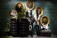 Vitrines du Printemps de l'homme - Paris, novembre 2010 by JournalDesVitrines.com, via Flickr