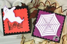Great Halloween stamps from Lockhart Stamp Company.