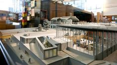 Traenenpalast Berlin (Modell)