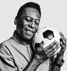 Pele and The Art of Being Pele -- a glimpse into the life of an extraordinary Brazilian soccer player and World Cup hero.