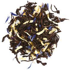 "David's Tea: Organic ""Mint to be"" black tea- with mint, coconut and blue cornflower. This smells like heaven. Coconut Rum, Toasted Coconut, Tea Website, Davids Tea, Hot Buttered Rum, Milk Ingredients, Organic Butter, Grey Tea, Tea Brands"