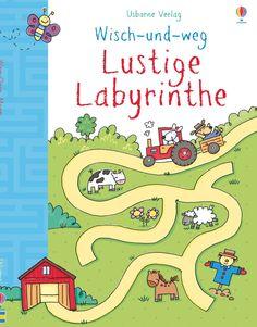 Mein Wisch- und Weg-Buch: Lustige Labyrinthe | Jessica Greenwell, Stacey Lamb