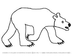 Polar Bear, Polar Bear What do you Hear printable Animal
