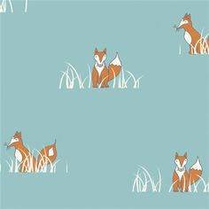 Wiksten tank in this! Jay-Cyn Designs for Birch Organic Fabrics, Camp Sur, Sly Fox Sewing Crafts, Sewing Projects, Sewing Tutorials, Fox Fabric, Baby Fabric, Cotton Fabric, Boppy Cover, Amazon Art, Fabric Patterns