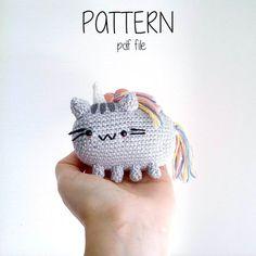 Pusheencorn the Cat Pattern Amigurumi