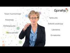 Asiakaspalvelun tehotunnit -koulutusesittely - YouTube