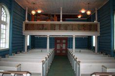 Interior of Dal Kirke, Rjukan, Tinn, Telemark, Norway. (Bakken ancestors)