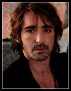 Lee Pace as the vampire Garrett, Trubies be jealous :-) I did a little after effects on this shot.