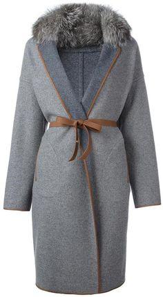 Loro Piana belted coat