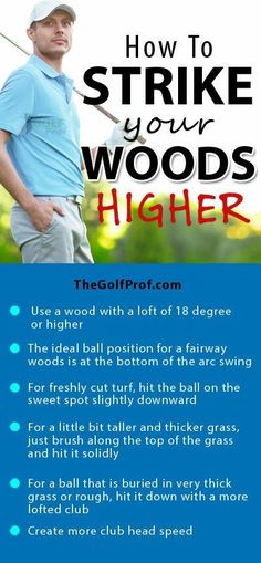 Golf Improvement Plan: How to Strike Your Woods Higher