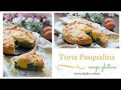 Torta Pasqualina veloce senza glutine - YouTube