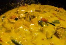 Currys zöldséges csirke Wok, Thai Red Curry, Fish, Chicken, Ethnic Recipes, Pisces, Cubs