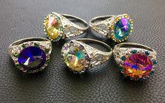 Hard Candy Jewels Marzipan Rings Tracey Davis