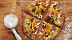 Mediterranean Hummus Pizza - Grandparents.com