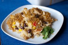 spicy chicken & rice casserole - looks like a good dish to take to a new mom.