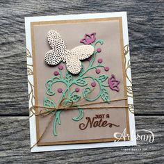 nutmeg creations: Stampin' UP Artisan Blog Hop - Flourish in Color Combo