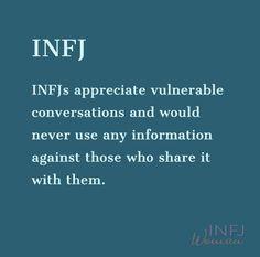 INFJs like deep, vulnerable conversations - Trend Hozier Quotes 2019 Infj Traits, Infj Mbti, Intj And Infj, Enfj, Mbti Personality, Myers Briggs Personality Types, Myers Briggs Infj, Infj Type, Introvert Quotes