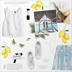 How To Wear Lemonade Outfit Idea 2017 - Fashion Trends Ready To Wear For Plus Size, Curvy Women Over 20, 30, 40, 50