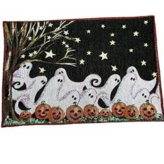 Halloween Ghost Friends Placemat Set of 4 Trick O Treat…