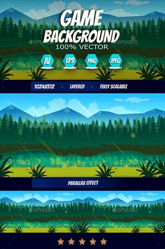 Forest Game Background Download here: https://graphicriver.net/item/forest-game-background/18557607?ref=KlitVogli