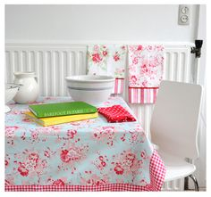 There are so many incredible photos on Tanya Whelan's site, it was hard to choose! I recommend checking out her blog, she is a great fabric designer!