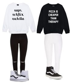 """BFF outfit"" by longboarder21 ❤ liked on Polyvore featuring Vans"