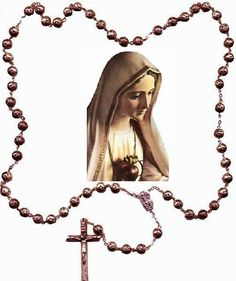 """Weapon of choice. Don't let anyone ever tell you that praying the Rosary is """"meaningless repetition"""" (when we  don't pray it, we don't know it, anyway, and how could we?). If you ever feel the temptation to stop, because it feels """"tedious,"""" that's when you keep going, if only because love is not a feeling, but an act of the will. Take your time; praying it effectively and loving it is gradually learned. And the appetite does come with the meal. Turn """"tedium"""" into persistence."""